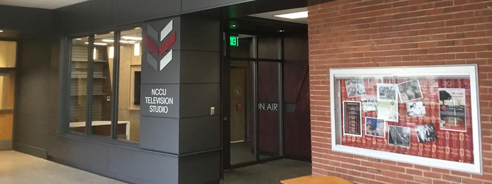 NCCU Television Studio exterior